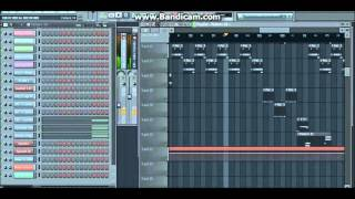 I Miss You Die - Instrumental Cover/Remix - FL Studio 11