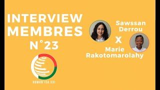 INTERVIEW MEMBRES N°23 : Sawssan & Marie