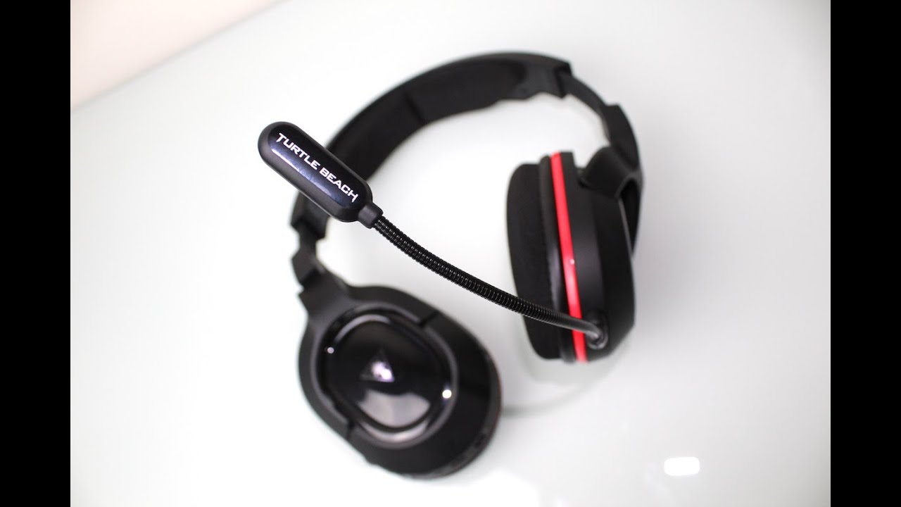 e54eb658aa7 Turtle Beach Ear Force Stealth 450 Wireless Headset Review - YouTube