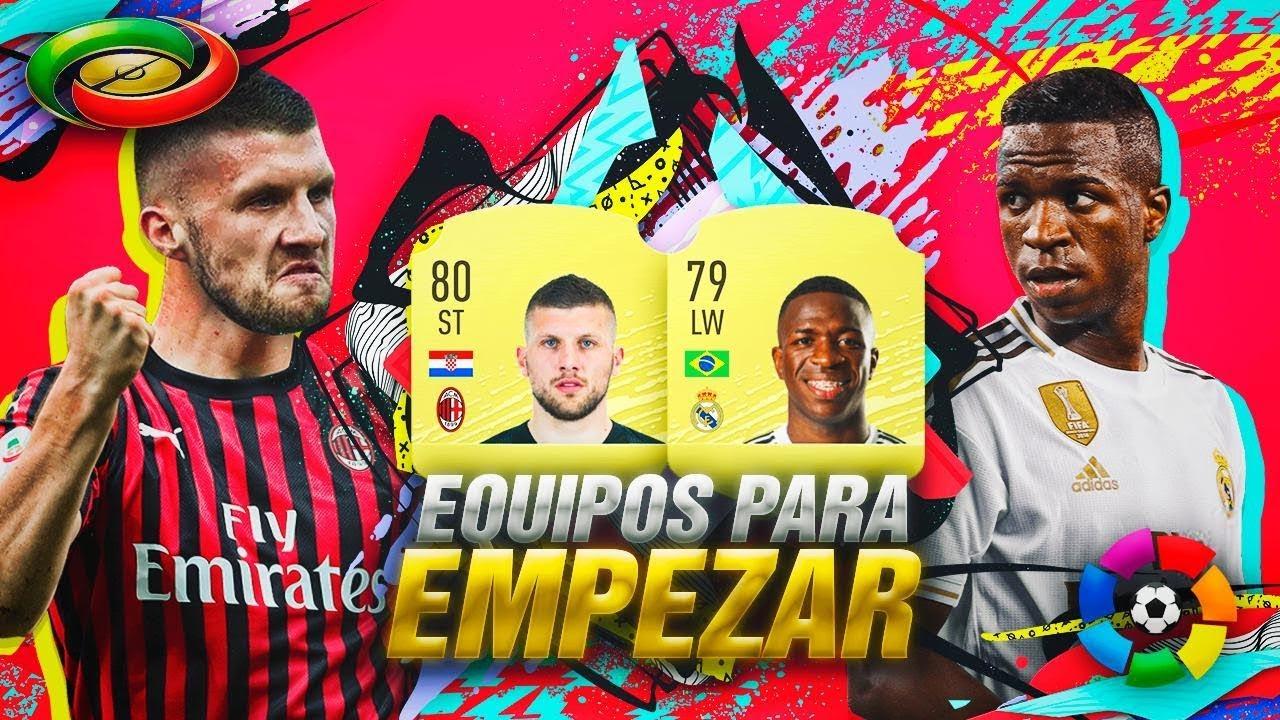 FIFA 20 | EQUIPOS DE LA LIGA SANTANDER Y SERIE A PARA EMPEZAR !!