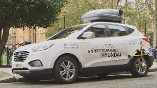 Лондон: таймлапс из 580 тыс. фото на водородном авто (новости)