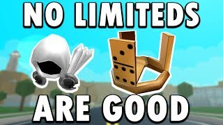 ROBLOX REMOVING LIMITEDS IS GOOD! ( ROBLOX LIMITEDS)