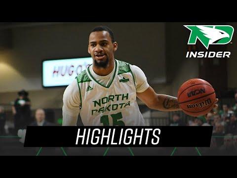North Dakota Vs. Omaha | Highlights | UND Men's Basketball | 1/10/19