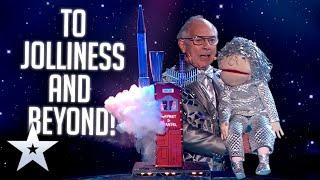GROUNDBREAKING Sci-Fi Magic with Jeffrey Drayton! | Live Shows | BGT Series 9
