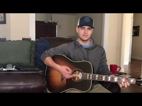 Break Up In The End - Cole Swindell Cover By Tyler Lewis