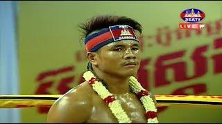 Moeun Sokhuch vs Chhoukchhai(thai), Khmer Boxing Seatv 20 May 2018, Kun Khmer vs Muay Thai