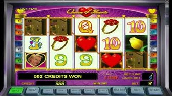 Queen of Hearts free slots machine game preview by Slotozilla.com