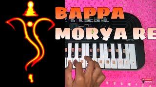 Download Hindi Video Songs - Bappa Morya Re On Piano   Ganpati special 2016   Ashking Piano