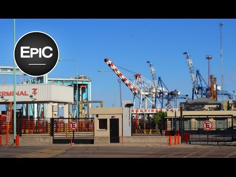 Puerto de Buenos Aires / Port of Buenos Aires - Argentina (HD)