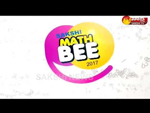 Sakshi India MATH BEE - 2017 || AP AP Finals Category - 1 || - 28th January 2018