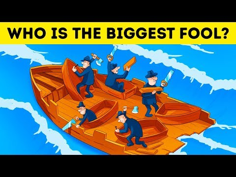 17 LOGIC BUSTING RIDDLES FOR KIDS AND ADULTS 🤪