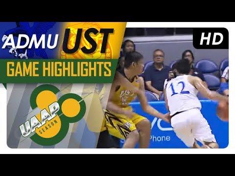 ADMU vs. UST | Game Highlights | UAAP 80 Men's Basketball | September 27, 2017