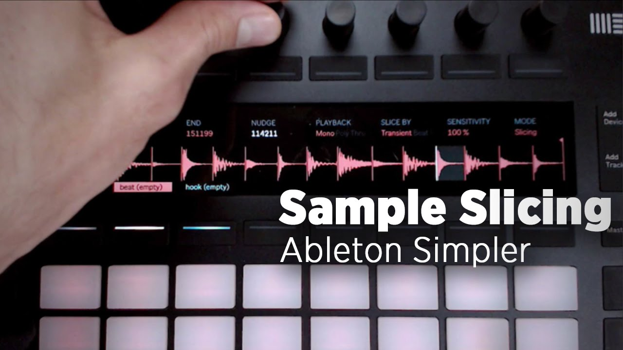Mad Zach: Sample Slicing With The Ableton 9 7 Simpler - DJ