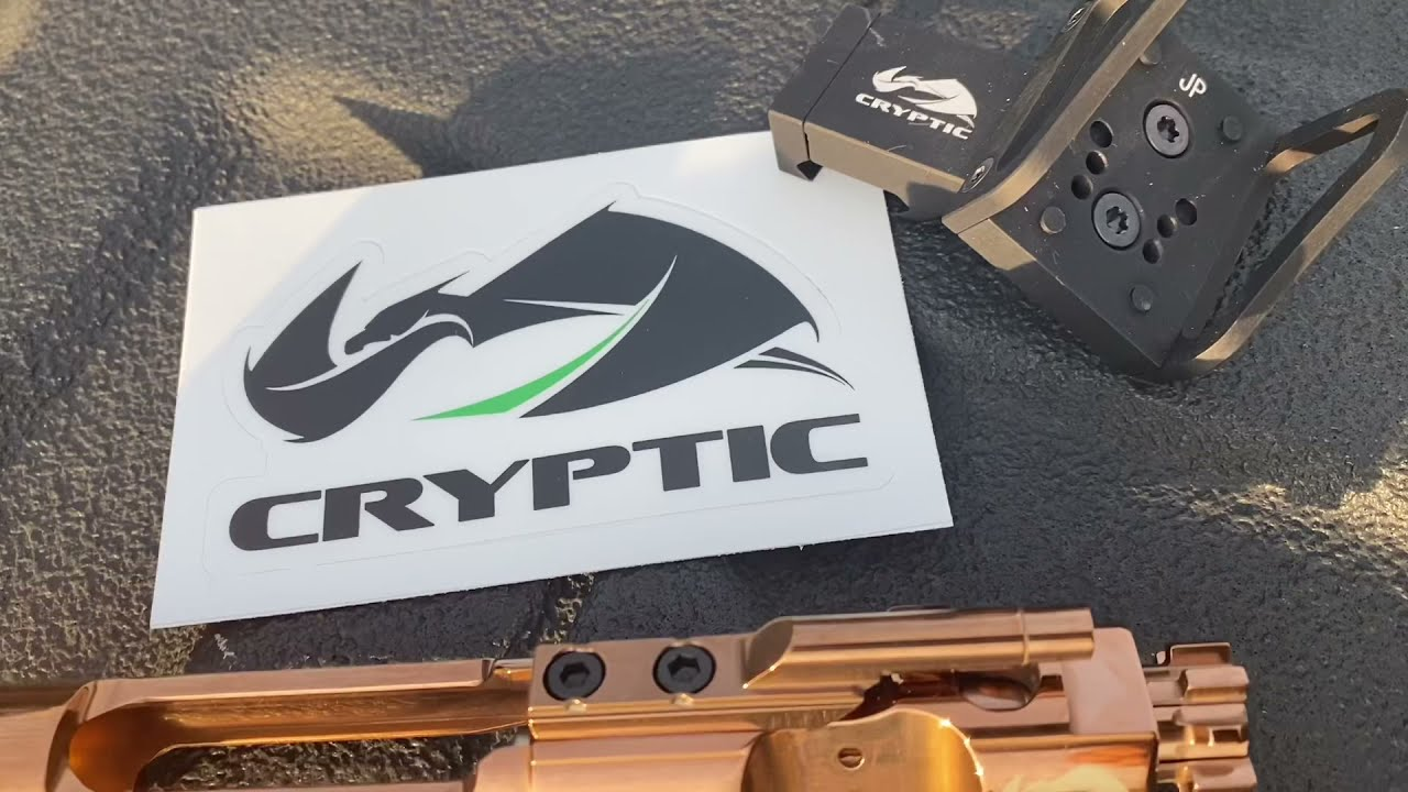 Cryptic Coatings, BCGs and offset optic mount
