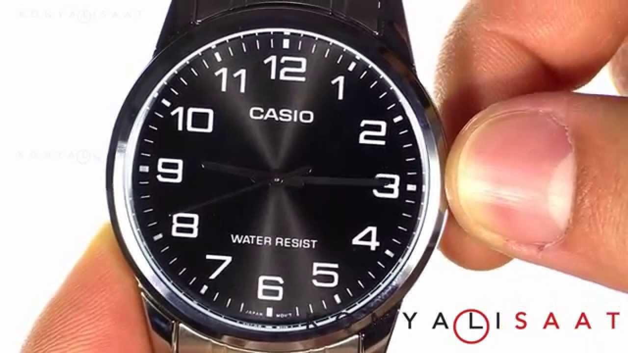 Casio Mtp V001d 1b Erkek Kol Saati Youtube
