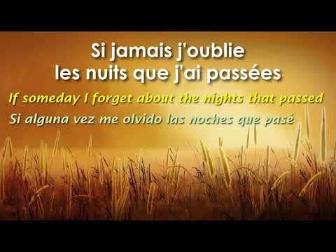 Si jamais j'oublie   ZAZ Subtitles in English and Spanish