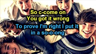 One Direction - What Makes You Beautiful - LYRICS KARAOKE/INSTRUMENTAL