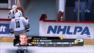 NHL Rivals 2004 Blackhawks vs Ducks Part 2