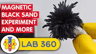 AMAZING SCIENCE EXPERIMENTS | Sand and Magnets Experiment & More | Lab 360