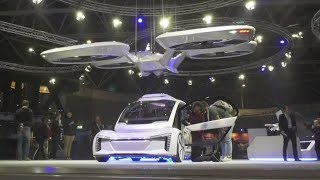 Hailing the future taxi: Drone-car mashup model takes flight thumbnail
