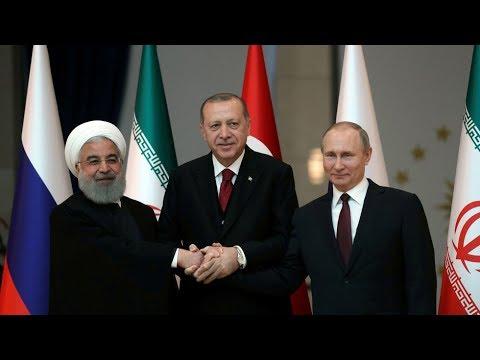 Russia, Iran, Turkey
