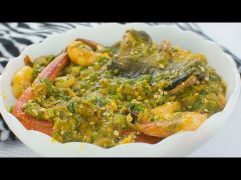 How To Make The Nigerian Okro Stew - Chef Lola's Kitchen