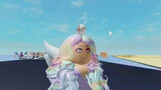 The girl who wanted to be but cute, ROBLOX