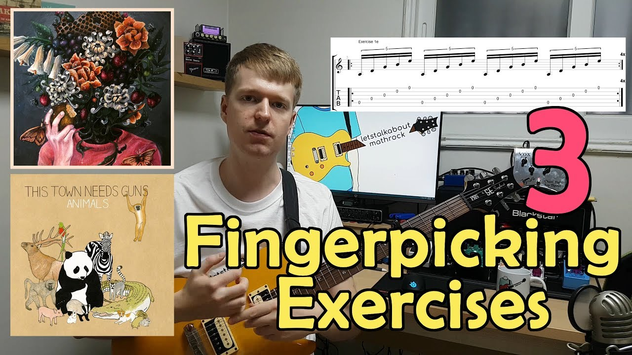 Math Rock Fingerpicking 101