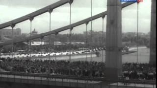 Конвоирование пленных немцев.Москва.1944.