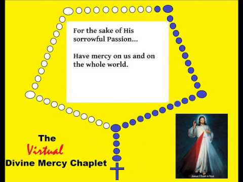 Divine Mercy Chaplet (spoken) (virtual)