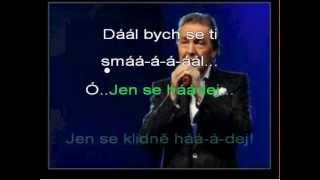 Jen se hádej Karel Gott karaoke kfn DEMO beranek robinson 2013