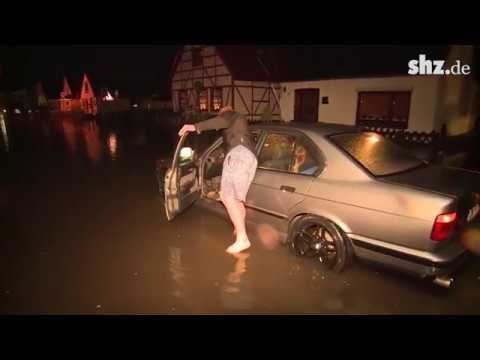 Unwetter über Schleswig-Holstein
