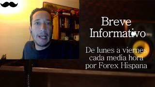 Breve Informativo - Noticias Forex del 1 de Noviembre del 2017