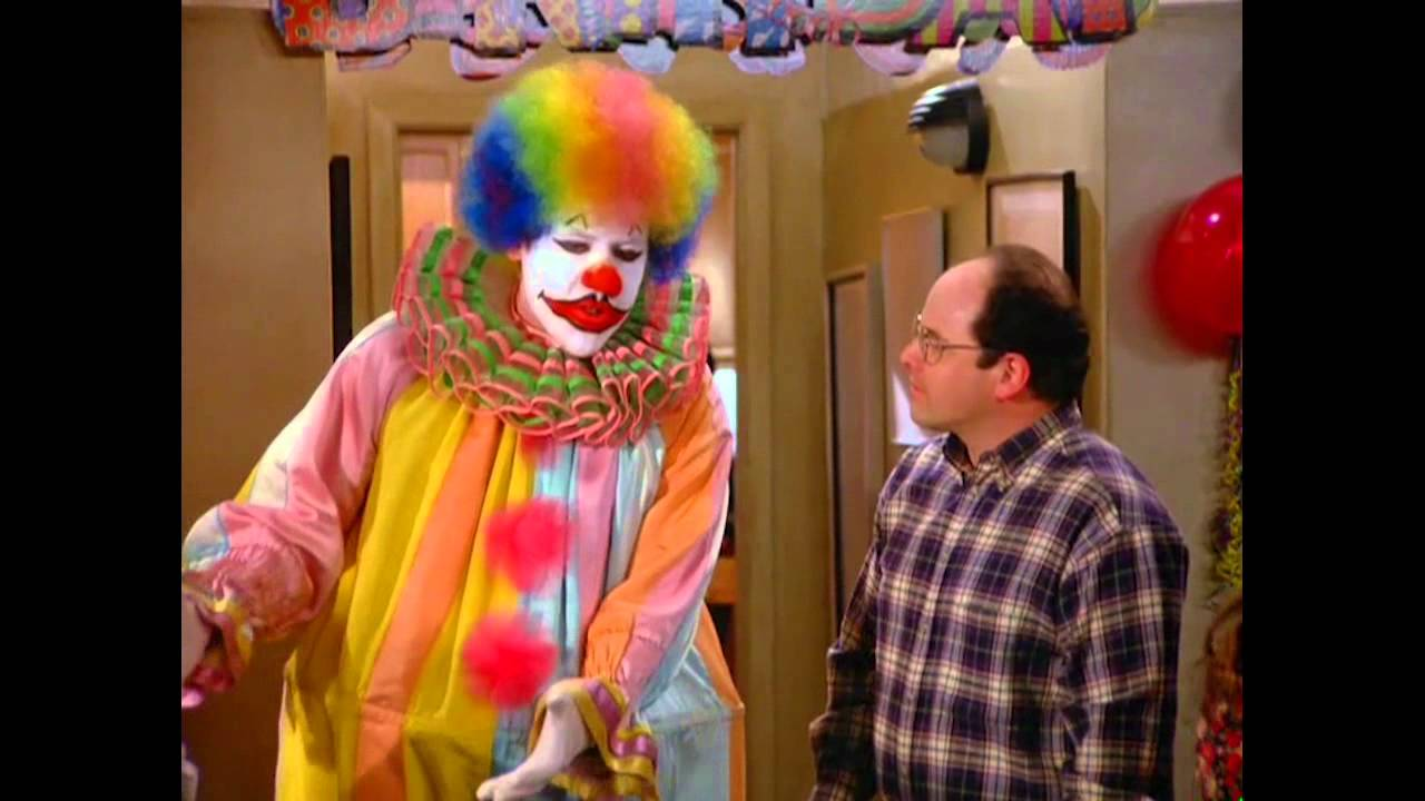 Image result for seinfeld clowns