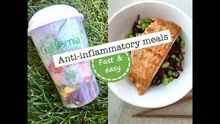Anti inflammatory meals