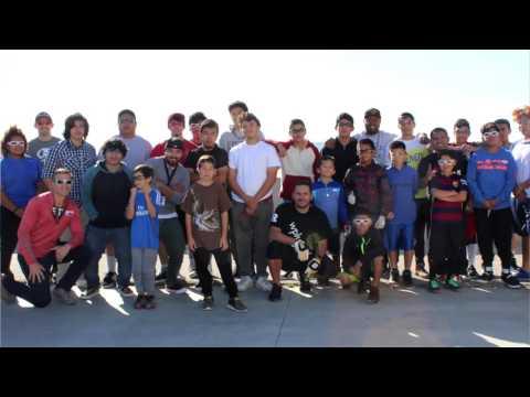 Around the Globe:  Venice Beach JR WPH Mega Clinic