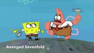 Hated Rock bands portrayed by spongebob