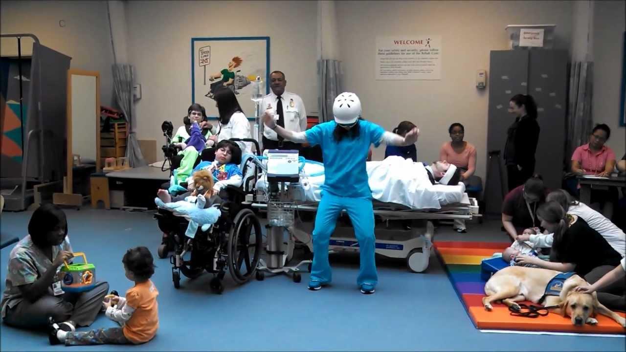 Harlem Shake At Baltimores Mt Washington Pediatric Hospital