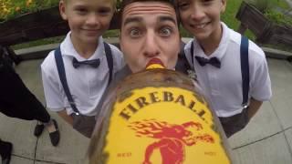 Wedding GoPro Fireball Whiskey Cam