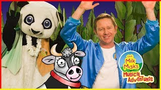 Sway | Lullabys for Children | Kids Songs with Actions | The Mik Maks