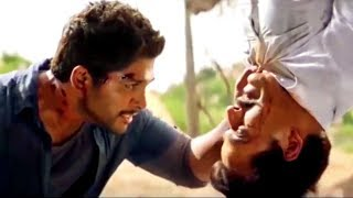 Allu Arjun Best Action & Dialogue Scene | Main Hoon Lucky The Racer | Race Gurram