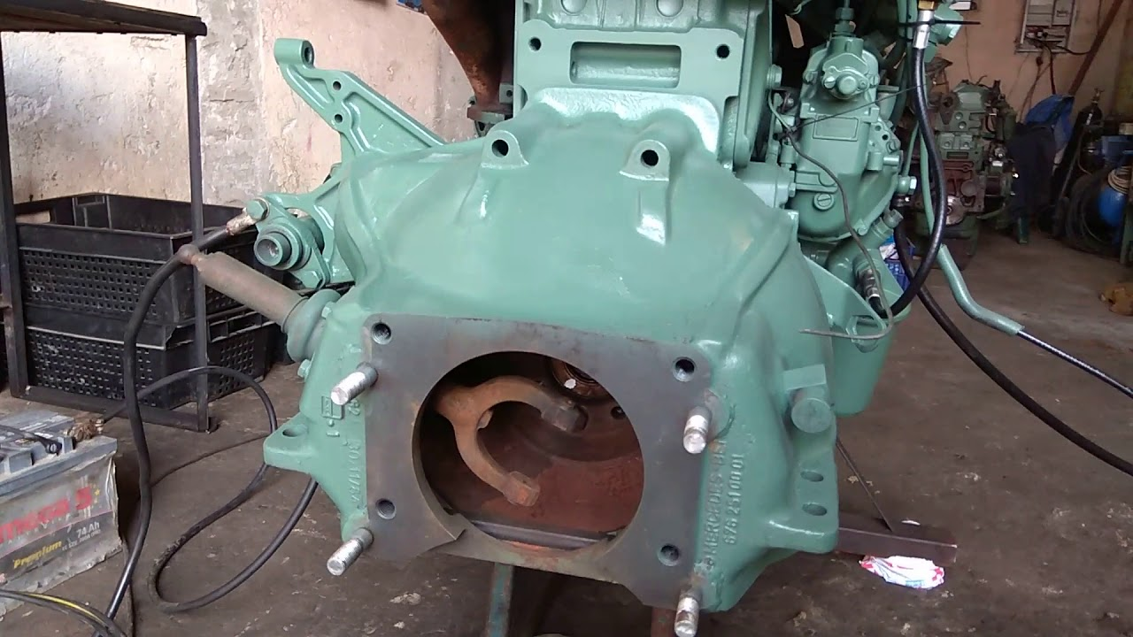 Двигатель мерседес на газ 66