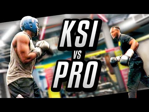 Thumbnail: FIGHTING A PRO BOXER
