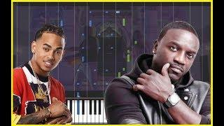 Ozuna - Coméntale (Feat. Akon) (Piano Cover)