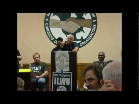Seattle Labor Solidarity Forum Disruption