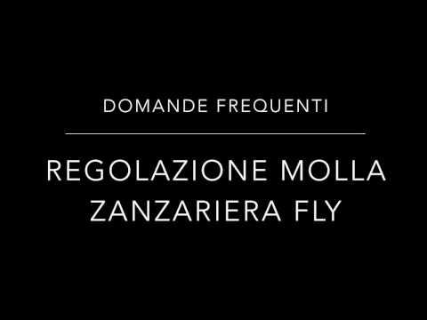 Regolazione Molla Zanzariere Fly