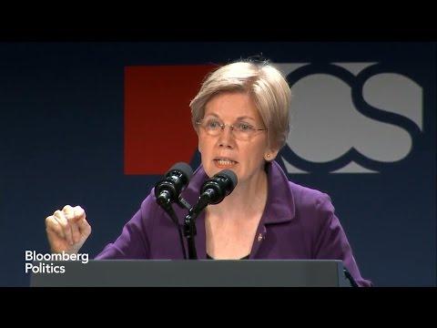 Warren Slams Trump as a 'Thin-Skinned Racist Bully'