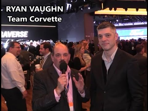 CORVETTECONTI VLOGS RYAN VAUGHN DETROIT AUTO SHOW 2017