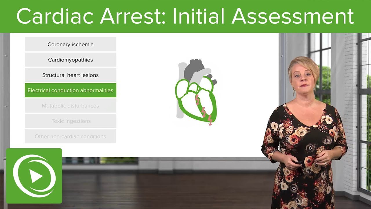 Cardiac Arrest: Epidemiology & Initial Assessment – Emergency Medicine | Lecturio