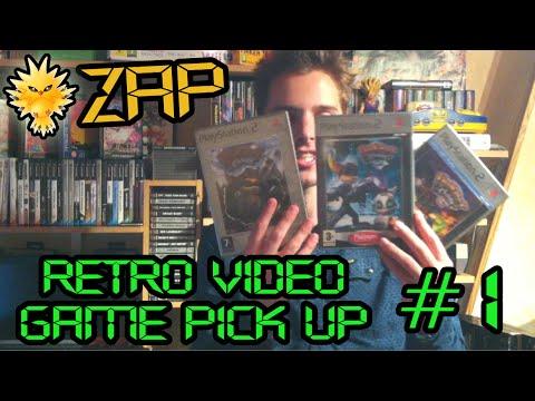 ZAP Recent Retro Video Game Pick Ups #1